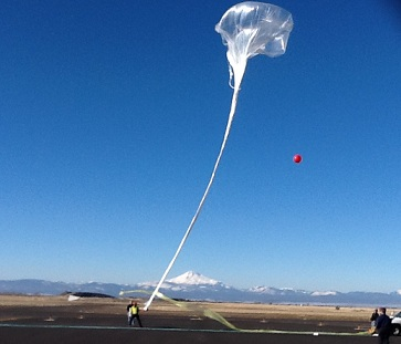 Near Space NASA FOP Balloon Launch
