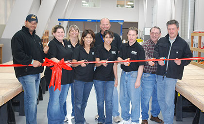Near Space Corporation Ribbon Cutting
